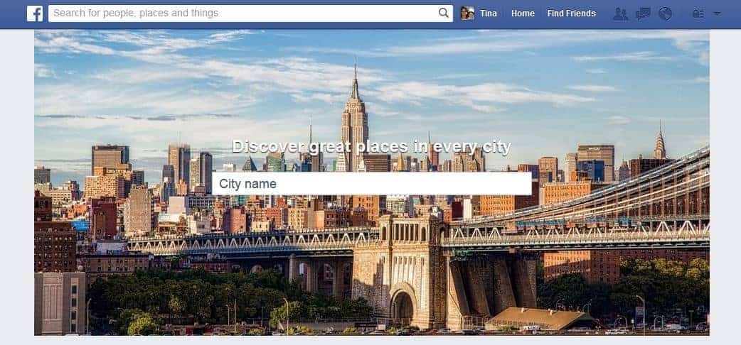 facebook places local image