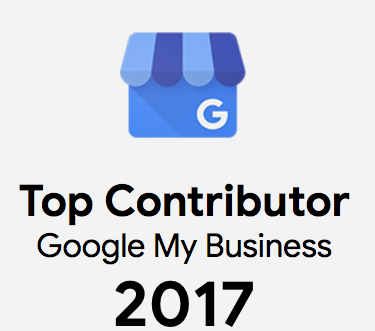 Google My Business Top Contributor 2017