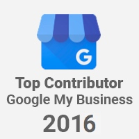 Google My Business Top Contributor 2016